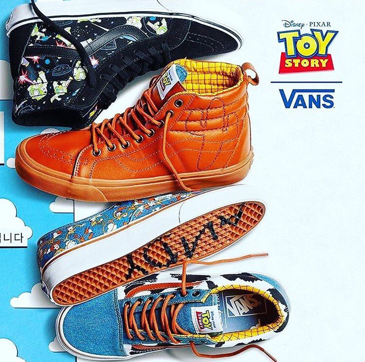 Vans Toy Story Woody Moda